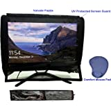 """Blufury® - 22"""" All-in-One Computer UV Protected Screen & Dust Cover with Key Board Cover & Comfort Mouse PAD"""