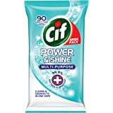 Cif Power And Shine Multi-Purpose Antibacterial Wipes, Cleaning And Disinfectant, Kills 99.9% Of Bacteria For A Clean…