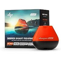 Deeper START Idéal pour les pêcheurs à la ligne qui veulent un détecteur de poissons simple, puissant et abordable pour les aider à attraper plus. Black, orange