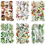 240 feuilles Autocollants Scrapbook Autocollants de fleur Autocollant de décoration Autocollants de planificateur Autocollant