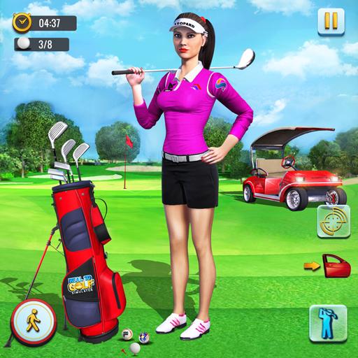 Real 3D Golf Simulator : Golf Games