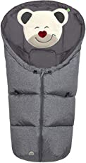 Odenwälder BabyNest Fußsäckchen Mucki fashion   11437   passend für Schalensitze der Gruppe 0, Softragetaschen und Hartschalen   new woven