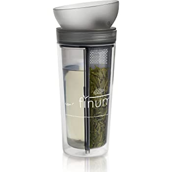 Bisphenol A-freier Kunststoff 400/ml rose hitzebest/ändig Teami Blends Tee-Becher Tee-Becher to go doppelwandig tolles Accessoire