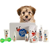 Captain Zack - The Puppy Groom Box – Ultimate 8-in-1, Head-to-Paw Groom-Kit for Your Puppy - (Shampoo +Conditioner +Dry…