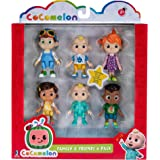 Cocomelon Family & Friends - Confezione da 6 figure miste, WT80107