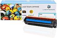 Lightwave Laser Toner Cartridge (LW H-CF541A) - Cyan - Compatible with HP LaserJet Pro M254dw | M254nw | M281fdn | M281fdw | M280nw