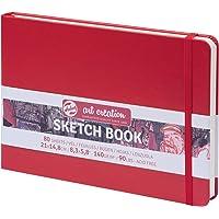 TALENS Sketchbook Sketchbook 21x14.8 cm, 160 g/m² 80 Pages Red
