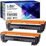LxTek Compatible Reemplazo para Brother TN1050 TN 1050 Cartuchos de tóner para Brother HL-1210W HL-1212W HL-1110 HL-1112 DCP-