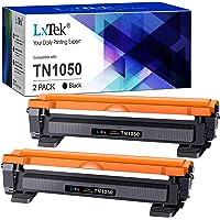 LxTek TN1050 Cartouches de Toner Compatible pour Brother TN1050 TN-1050 pour Brother HL-1110 DCP-1510 DCP-1610W MFC…