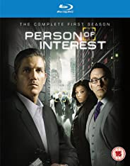Person of Interest: The Complete Season 1 (4-Disc Box Set) (Blu-ray + Ultraviolet) (Region Free + Slipcase Packaging + Fully