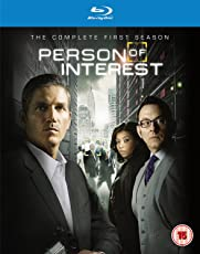 Person of Interest: The Complete Season 1 (4-Disc Box Set) (Blu-ray + Ultraviolet) (Region Free + Slipcase Packaging + Fully Packaged Import)