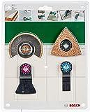 """Bosch 2609256978 Set de carrelage 4 pièces """"Le Sanitaire - Carreleur"""" accessoires Starlock"""
