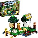 LEGO Minecraft La Fattoria delle Api, Set da Costruzione con Apicoltore e Pecora, Giocattoli per Bambini di 8 Anni, 21165