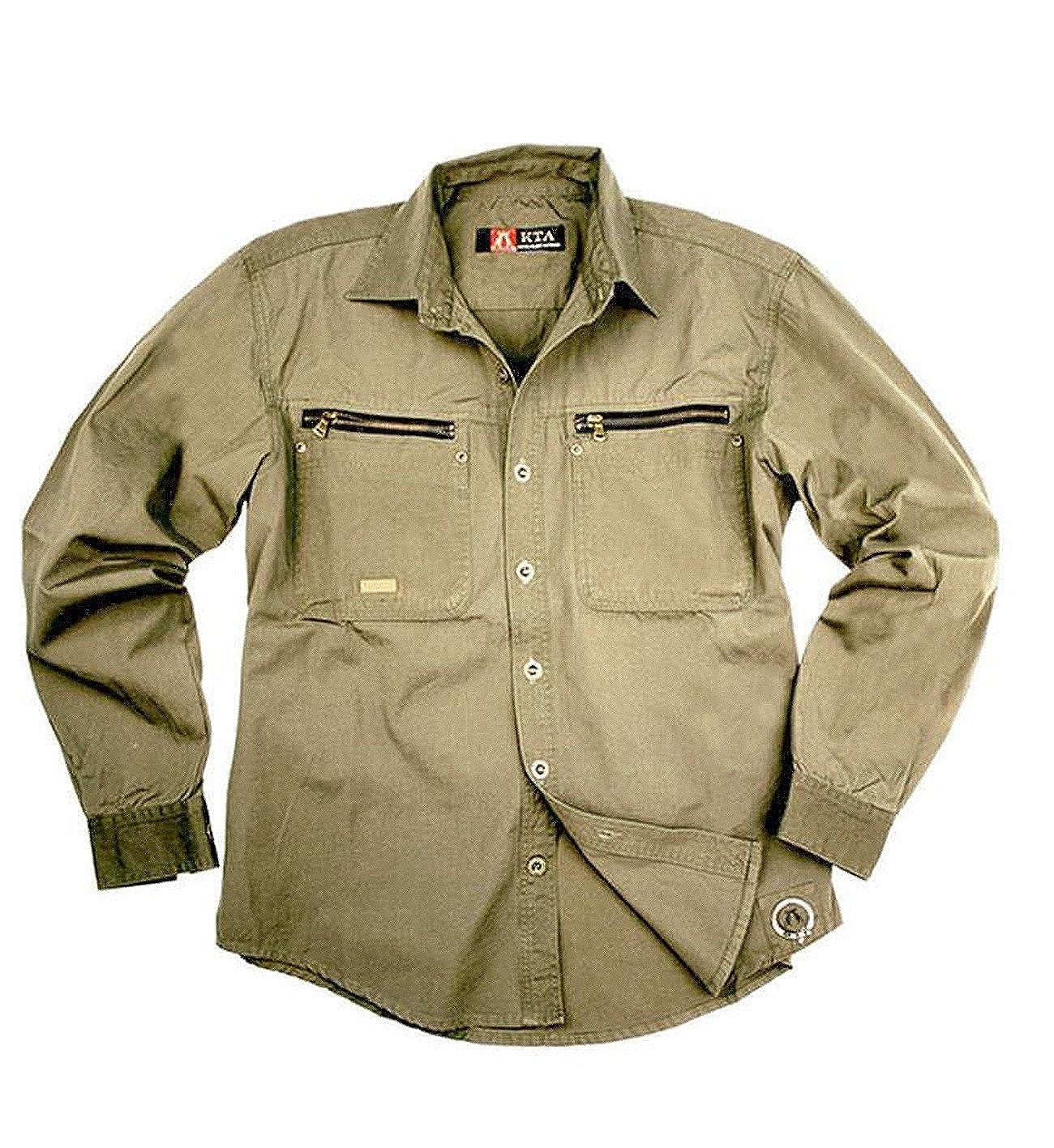 Shoppen Sie Herren Outdoor Arbeits- Hemd aus robuster Baumwolle von Kakadu  Australia auf Amazon.de:Freizeit