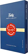 Tally ERP 9: Gold- GST Ready (Multi User- Unlimited LAN Users & 10 Remote Users)