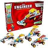 SARTHAM, Little Engineer, Mechanical Kit for Juniors - Racer, Age 6+