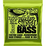 Ernie Ball Regular Slinky Nickel Wunde E-Bass Saiten - 50-105 Gauge
