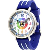 KIDDUS Orologio educativo analogico per bambini, per imparare l'orario con il nostro semplice sistema Time Teacher…