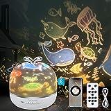 3 in 1 Lampada Proiettore Stelle Bambini, CoPedvic Luce Notturna Bambini Neonati con LED Altoparlante Bluetooth Cielo Stellat