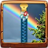 Regenbogen-Reißverschluss-Bildschirm