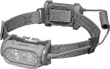 MacTronic Phantom - Stirnlampe mit Doppelobjektiv, Flutlicht- und Punktstrahlern und Warmlichtdioden - 500 Lumen