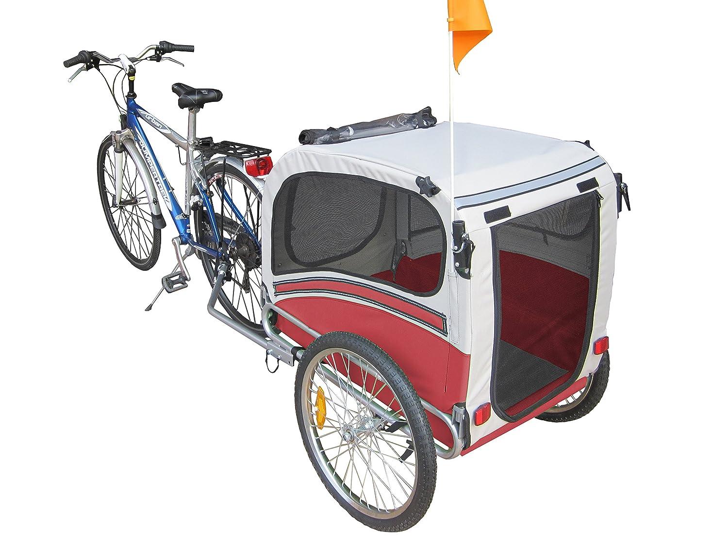 POLIRONESHOP SNOOPY rimorchio per trasporto cani cane animali ...