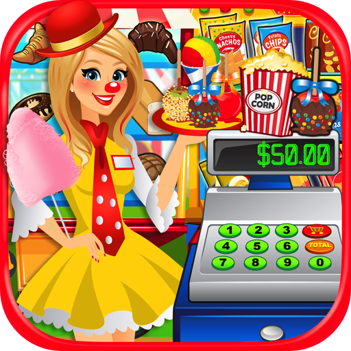 Fair Food Supermarket Simulator - Kids Prize Claw, Dessert Food & Carnival Games FREE (Snow Cone Maker Free)