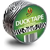 Duck Tape Plakband met zebra-patroon, 48 mm x 10,0 m, stijlvolle zebra voor knutselen en decoreren