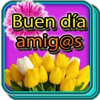 Saludos con flores hermosas