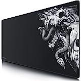 Titanwolf – Tappetino per il mouse XXL 900 x 400 mm – Tappetino per il mouse per gaming XXL grande – precisione e velocità –