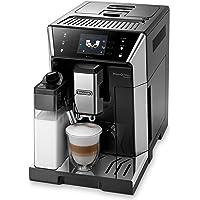 De'Longhi PrimaDonna Class ECAM 556.55.SB Kaffeevollautomat mit Milchsystem, Cappuccino und Espresso auf Knopfdruck, 3,5…