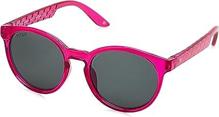 Dash UV Protected Round Unisex Sunglasses - (SDS023AA|46|Black Color)