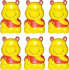 Kotak Sales Kids Cartoon Character Piggy Bank Money Saving Coin Bank Birthday Party Return Gift (Set of 6pcs)