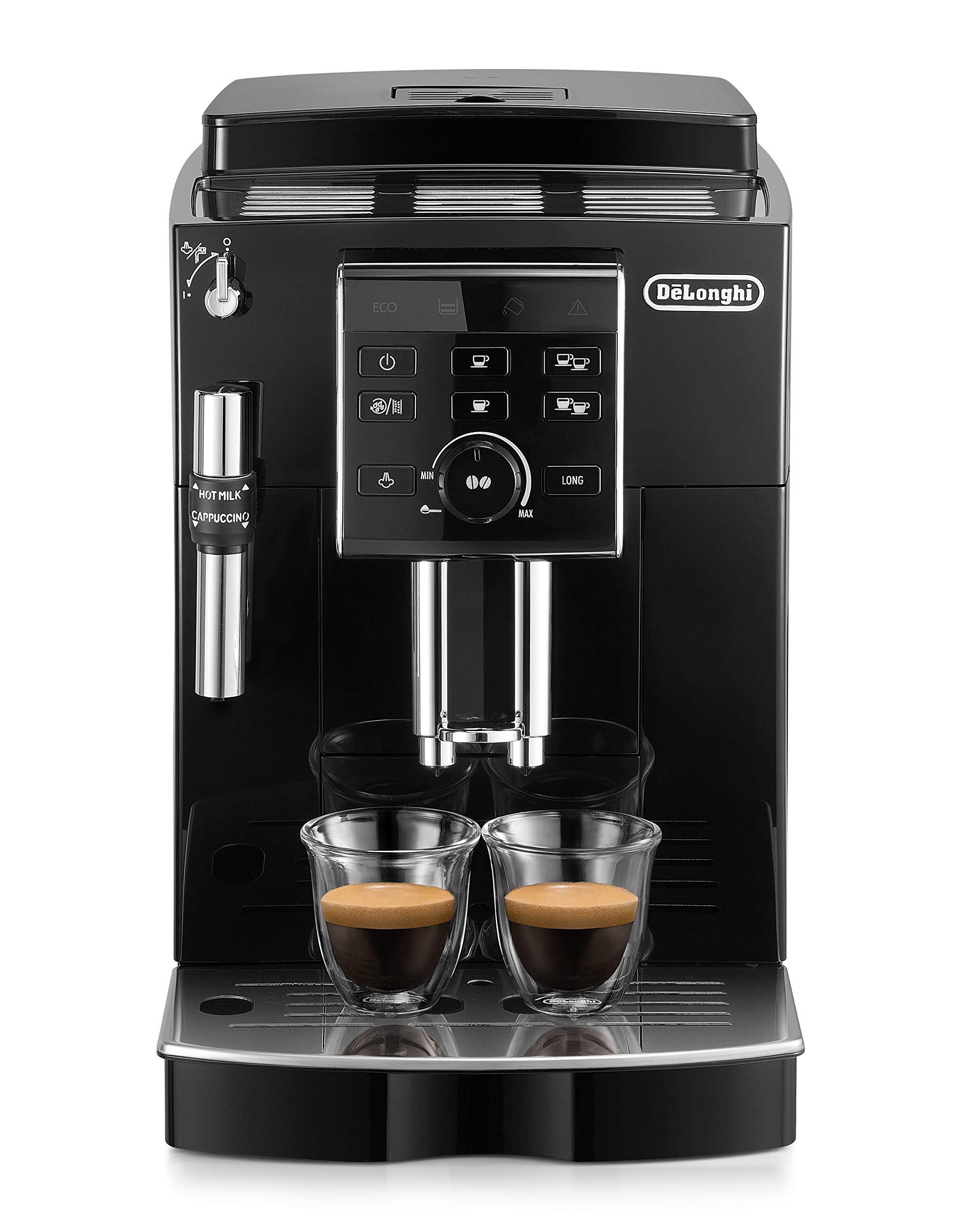 De'Longhi ECAM 25.120.B Kaffeevollautomat (Milchaufschäumdüse) schwarz