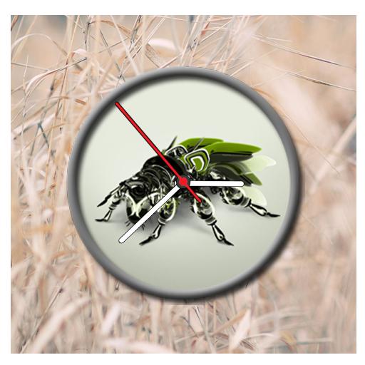 Bug Clock Live Wallpaper (Wallpaper Bugs)
