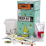 Saveur Bière - Kit de Brassage Débutant, Je Brasse ma bière Maison - 4L de bière - Idée Cadeau 100% découverte - Anniversaire