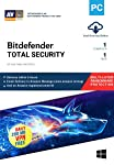 BitDefender Total Security Latest Version with Ransomware Protection - 1 User, 1 Year