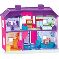 Toyzone Princess Doll House/Play Set for Girls (24 Pcs) -Multicolour