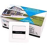 Rademacher 2-voudige draadloze wandknop (1-kanaal) voor DuoFern Smart-Home apparaten - opbouw, met batterij, incl. frame (949