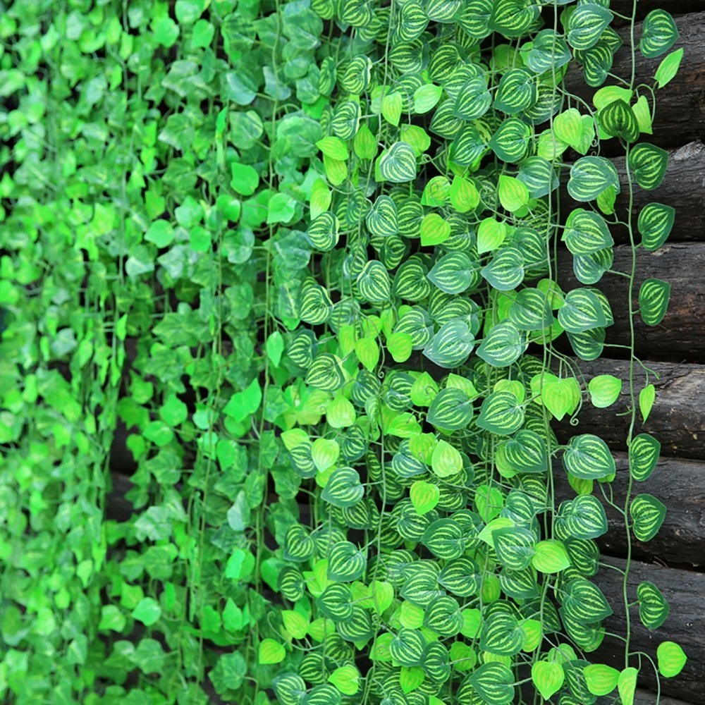Amazon 156 Fuß Fake Laub Girlande Blätter Dekoration