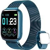 NAIXUES Smartwatch Orologio Fitness Sportivo Donna Uomo Impermeabile Smart Watch Cardiofrequenzimetro Contapassi da Polso Mon