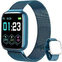 NAIXUES Smartwatch Orologio Fitness Sportivo Donna Uomo Impermeabile Smart Watch Cardiofrequenzimetro Contapassi da…