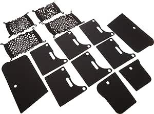 Mopar 82213570 Ladungseinteiler Für Rambox Sechs Vertikale Horizontale Trennwände Vier Erweiterbare Aufbewahrungsnetze Auto