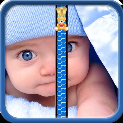 Baby Zipper Lock Bildschirm -