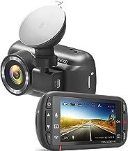 Kenwood DRV-Full HD-dashcam met 3-assige G-sensor, GPS en draadloze link, DRV-A301W.