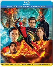 Spider-Man: Far from Home (Steelbook) (Blu-ray 3D + Blu-ray + Bonus Disc) (3-Disc)