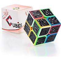 CUBIDI® Speed Cube 2x2 - Magic Cube avec caractéristiques de Rotation optimisées pour Le Speed-Cubing - Casse Tete…
