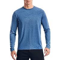 Sports T Shirt Men, Gym T Shirt Men's Running Top Long Sleeve