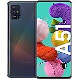 Samsung Galaxy A51 Smartphone Bundle (16,4cm (6,5 Zoll)) 128 GB interner Speicher, 4 GB RAM, Dual SIM, Android inkl. 30 Monat