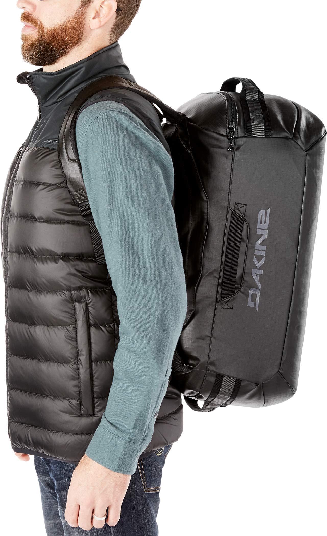 Dakine Ranger Duffle Duffle bolsa de deporte weekender de viaje, Unisex adulto, Black, 90 L